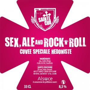 Bière Sainte Cru sex ale & rock'n'roll alsace