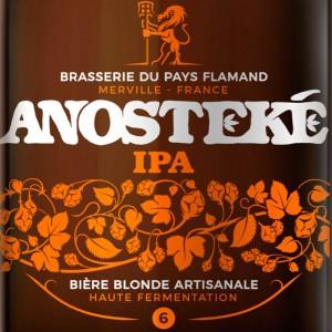 Bière anosteke IPA pays flamand