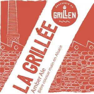 Bière Grillen ambrée la Grillée Alsace