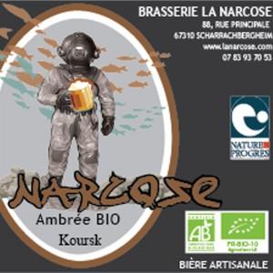Biere Narcose Koursk ambree Alsace