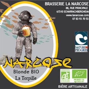 Biere Narcose torpille Blonde Alsace