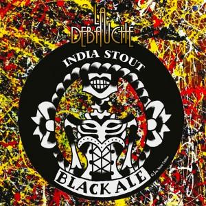 Biere la debauche black ale india stout
