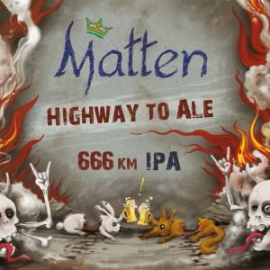 Bière Double IPA Matten Highway to Ale