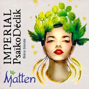 Bière artisanale alsace Matten Blonde imperial psaikodéclik