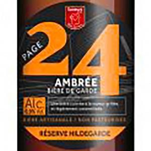 Biere page 24 saint germain reserve hildegarde ambree